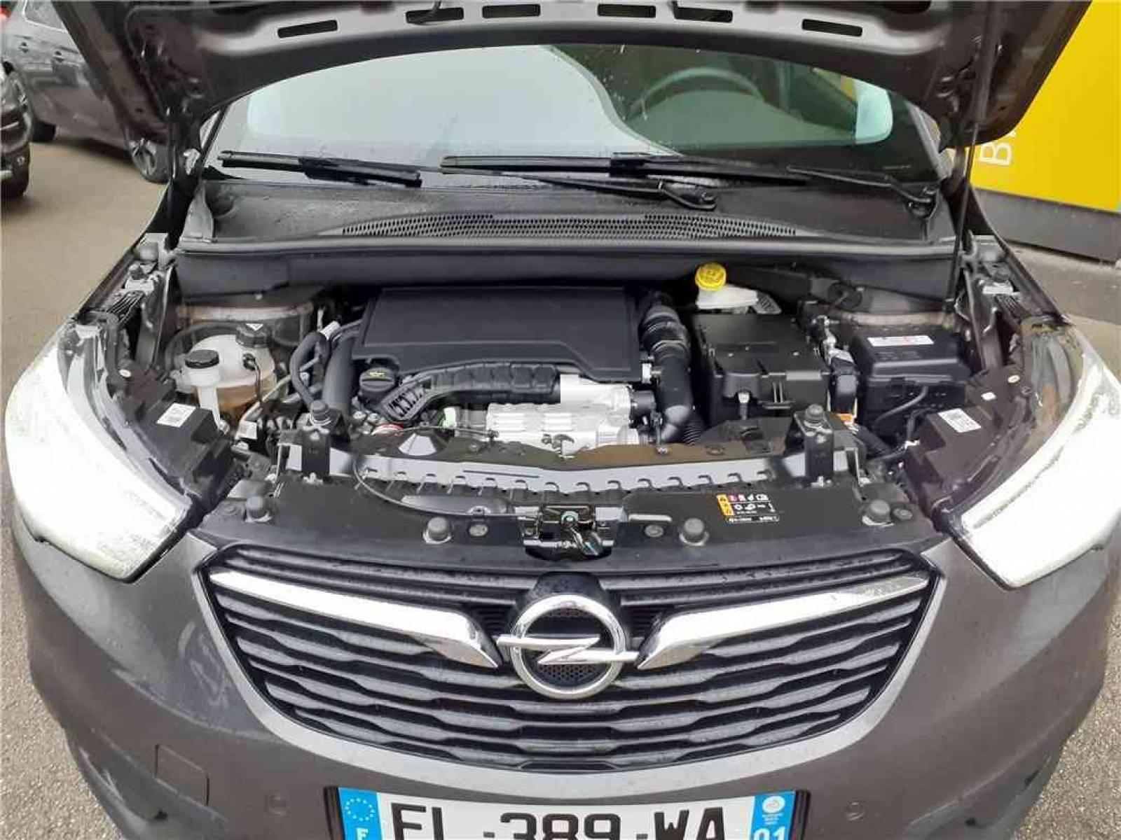 OPEL Crossland X 1.2 Turbo 110 ch - véhicule d'occasion - Groupe Guillet - Opel Magicauto - Chalon-sur-Saône - 71380 - Saint-Marcel - 13