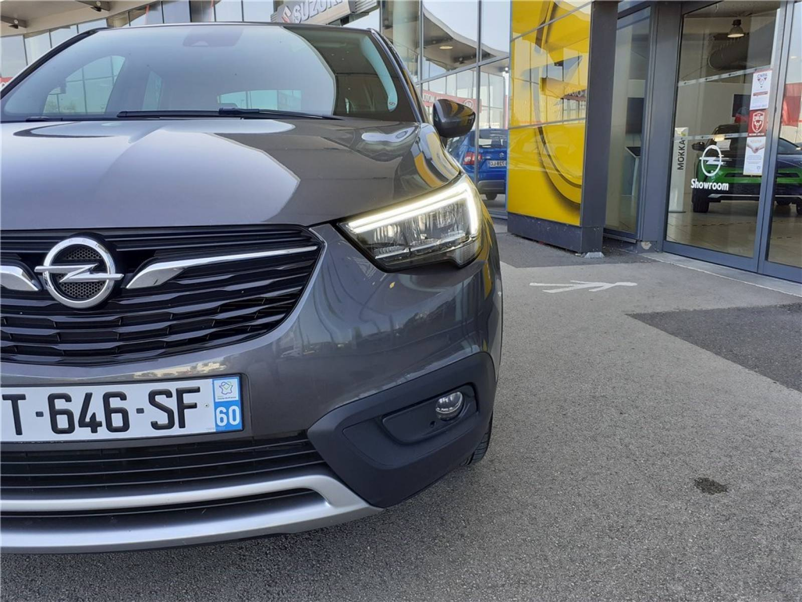 OPEL Crossland X 1.2 Turbo 110 ch - véhicule d'occasion - Groupe Guillet - Opel Magicauto - Chalon-sur-Saône - 71380 - Saint-Marcel - 3