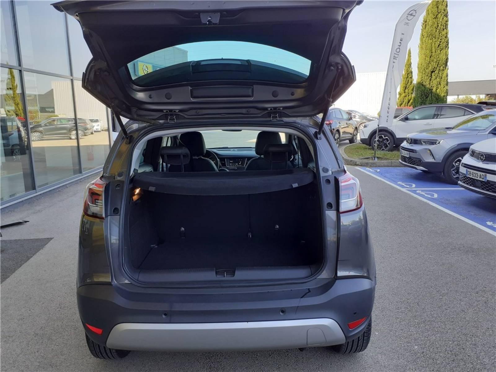 OPEL Crossland X 1.2 Turbo 110 ch - véhicule d'occasion - Groupe Guillet - Opel Magicauto - Chalon-sur-Saône - 71380 - Saint-Marcel - 10