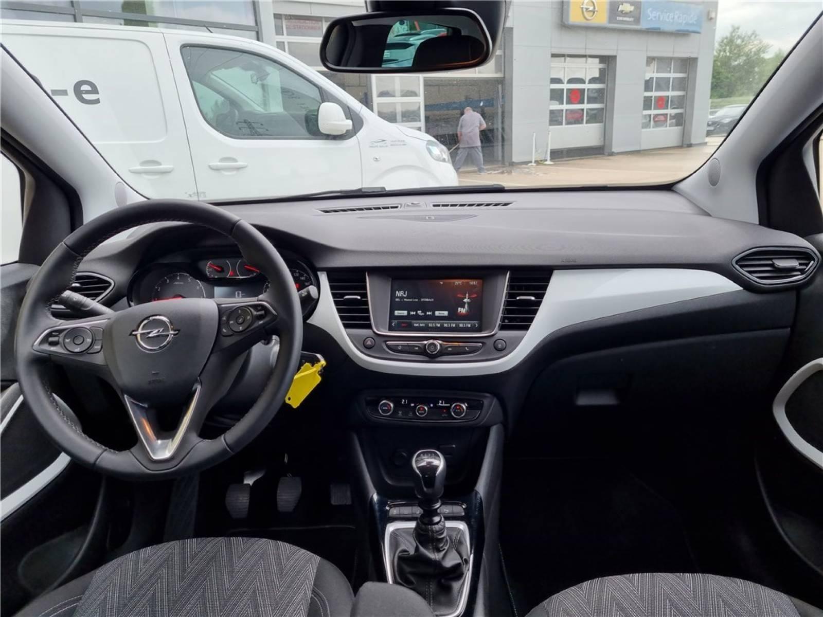 OPEL Crossland X 1.2 Turbo 110 ch - véhicule d'occasion - Groupe Guillet - Opel Magicauto - Chalon-sur-Saône - 71380 - Saint-Marcel - 20