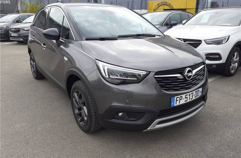 OPEL Crossland X 1.2 Turbo 130 ch BVA6  Opel 2020 - véhicule d'occasion - Groupe Guillet