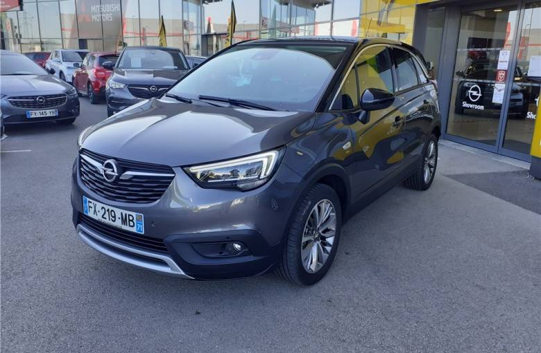OPEL Crossland X 1.2 Turbo 130 ch  Opel 2020 - véhicule d'occasion - Groupe Guillet