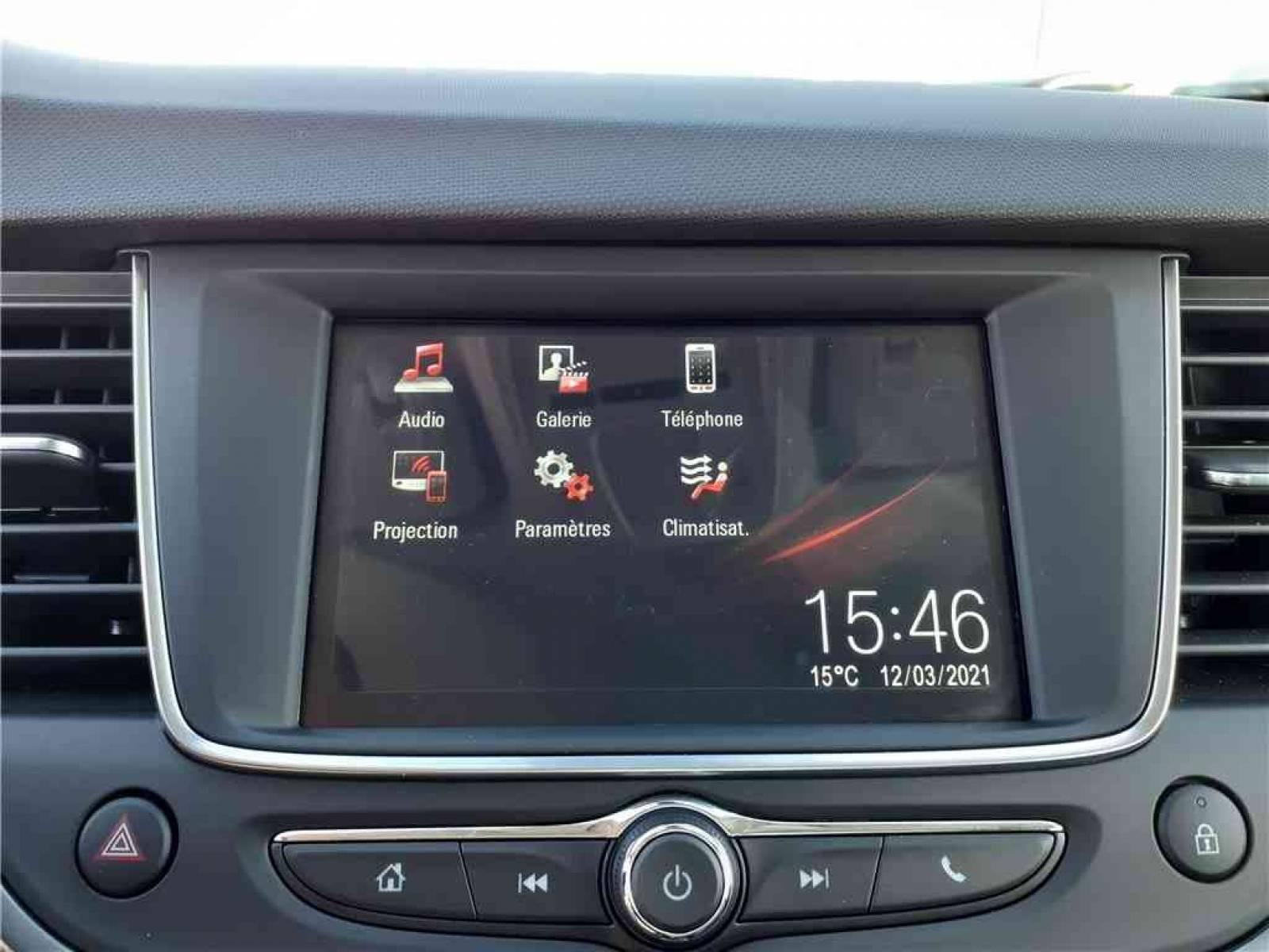 OPEL Crossland X 1.5 D 120 ch BVA6 - véhicule d'occasion - Groupe Guillet - Opel Magicauto - Chalon-sur-Saône - 71380 - Saint-Marcel - 36