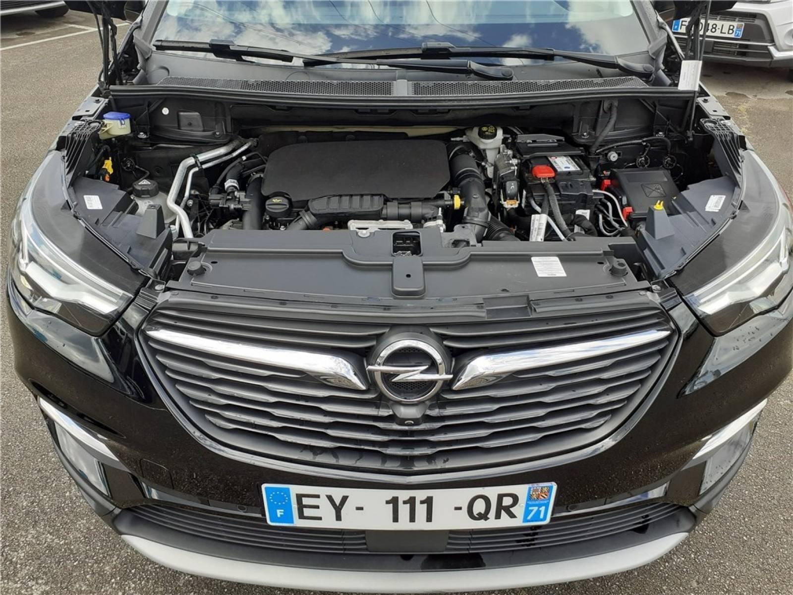 OPEL Grandland X 1.2 Turbo 130 ch BVA6 - véhicule d'occasion - Groupe Guillet - Opel Magicauto - Chalon-sur-Saône - 71380 - Saint-Marcel - 13