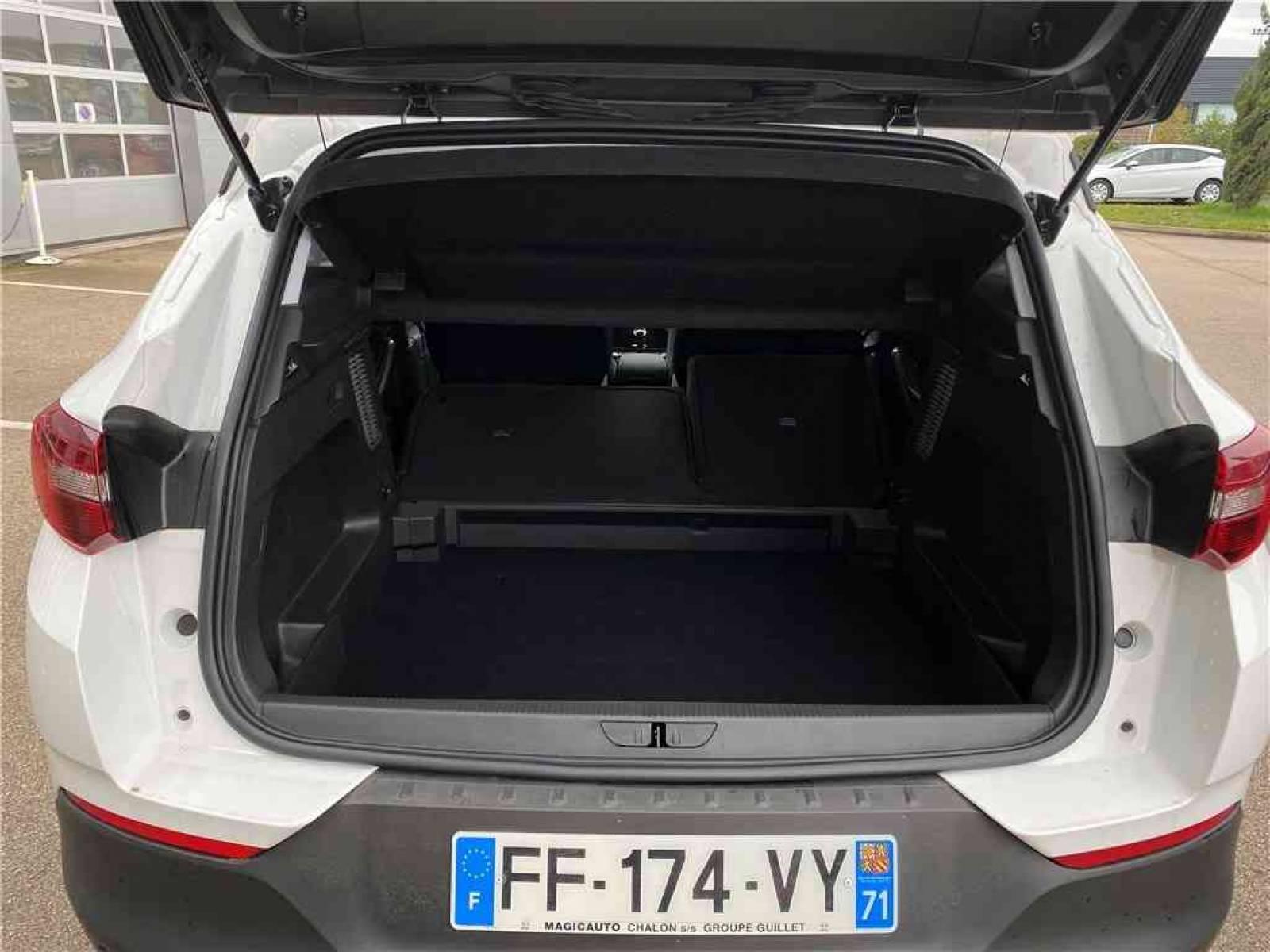 OPEL Grandland X 1.2 Turbo 130 ch - véhicule d'occasion - Groupe Guillet - Opel Magicauto - Chalon-sur-Saône - 71380 - Saint-Marcel - 24