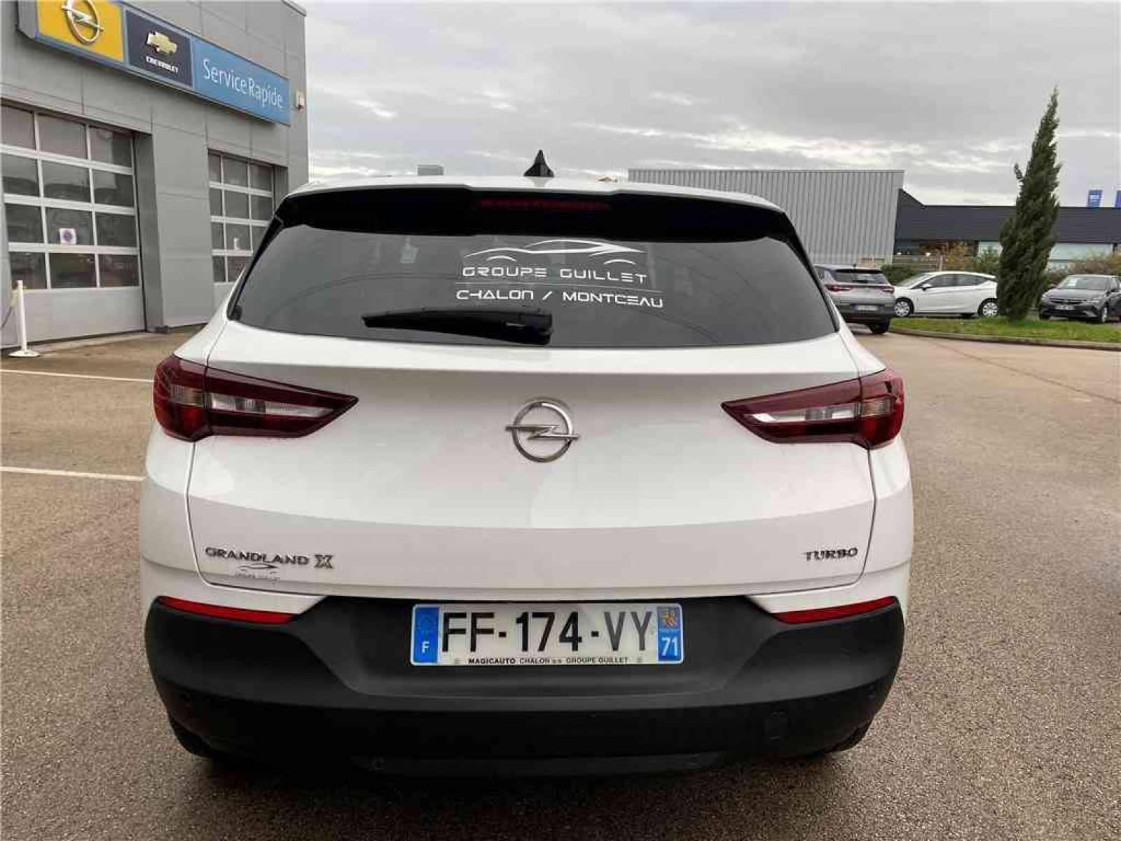 OPEL Grandland X 1.2 Turbo 130 ch - véhicule d'occasion - Groupe Guillet - Opel Magicauto - Chalon-sur-Saône - 71380 - Saint-Marcel - 33