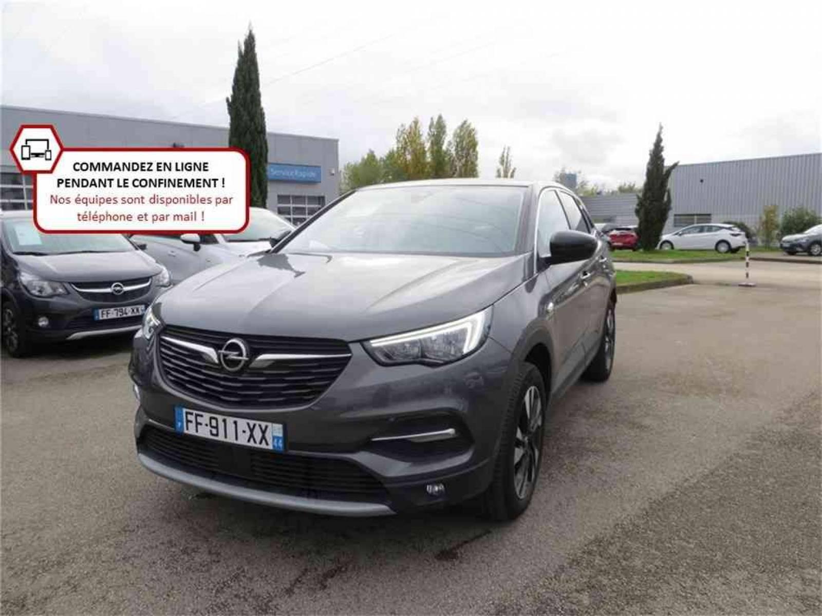 OPEL Grandland X 1.5 Diesel 130 ch BVA6 - véhicule d'occasion - Groupe Guillet - Opel Magicauto - Chalon-sur-Saône - 71380 - Saint-Marcel - 1