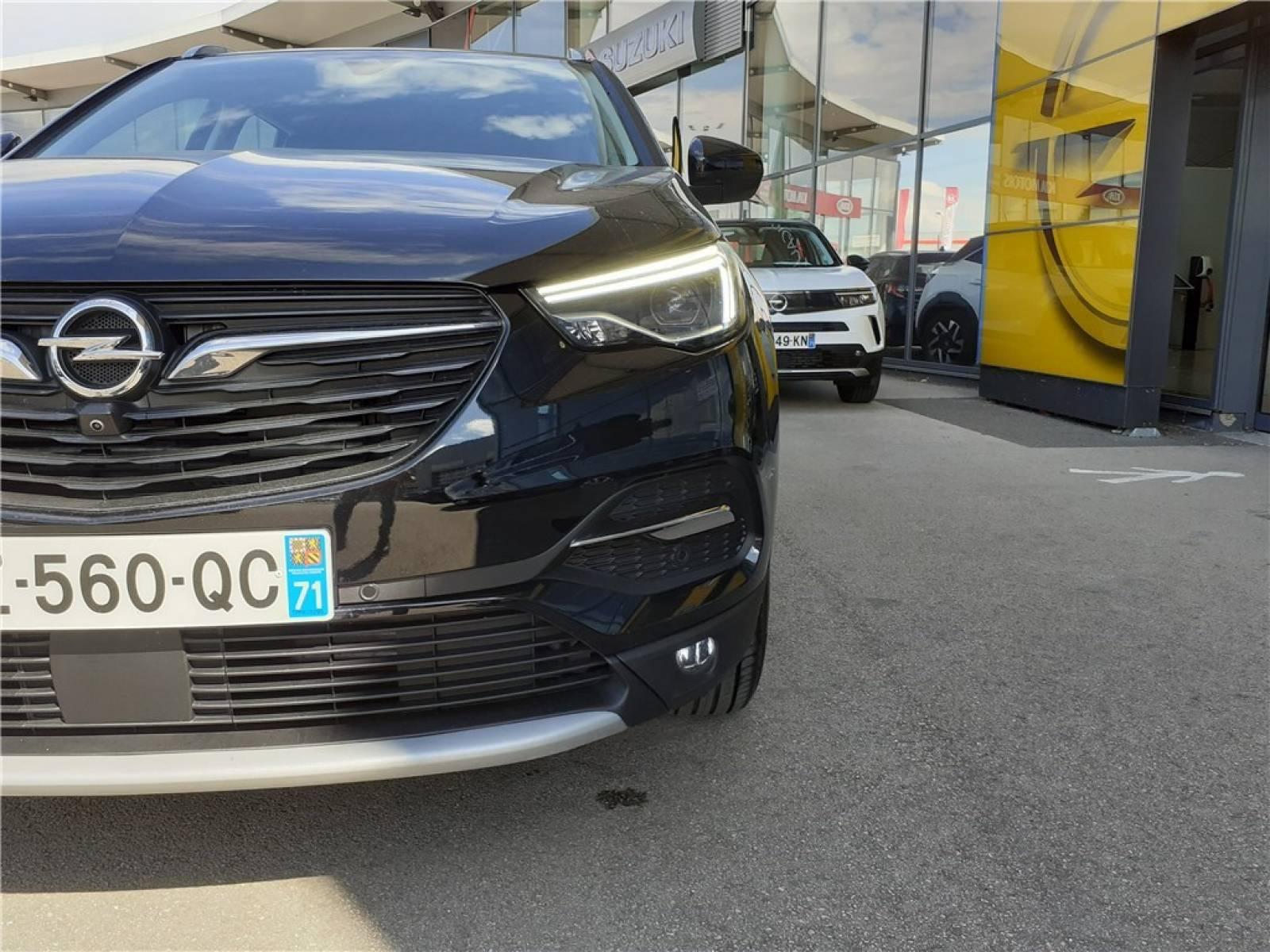 OPEL Grandland X 1.5 Diesel 130 ch BVA8 - véhicule d'occasion - Groupe Guillet - Opel Magicauto - Chalon-sur-Saône - 71380 - Saint-Marcel - 3