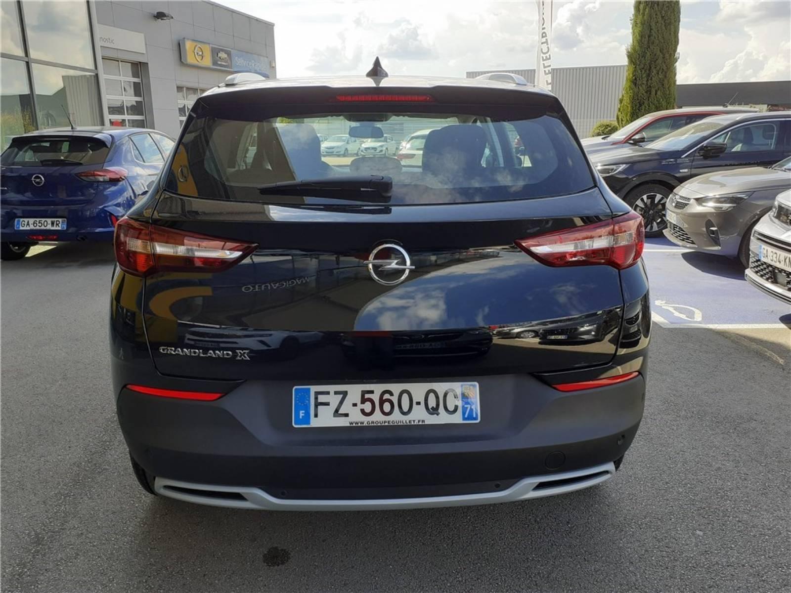 OPEL Grandland X 1.5 Diesel 130 ch BVA8 - véhicule d'occasion - Groupe Guillet - Opel Magicauto - Chalon-sur-Saône - 71380 - Saint-Marcel - 9