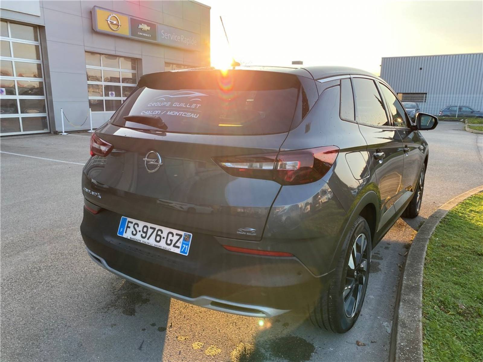 OPEL Grandland X 1.5 Diesel 130 ch BVA8 - véhicule d'occasion - Groupe Guillet - Opel Magicauto - Chalon-sur-Saône - 71380 - Saint-Marcel - 1
