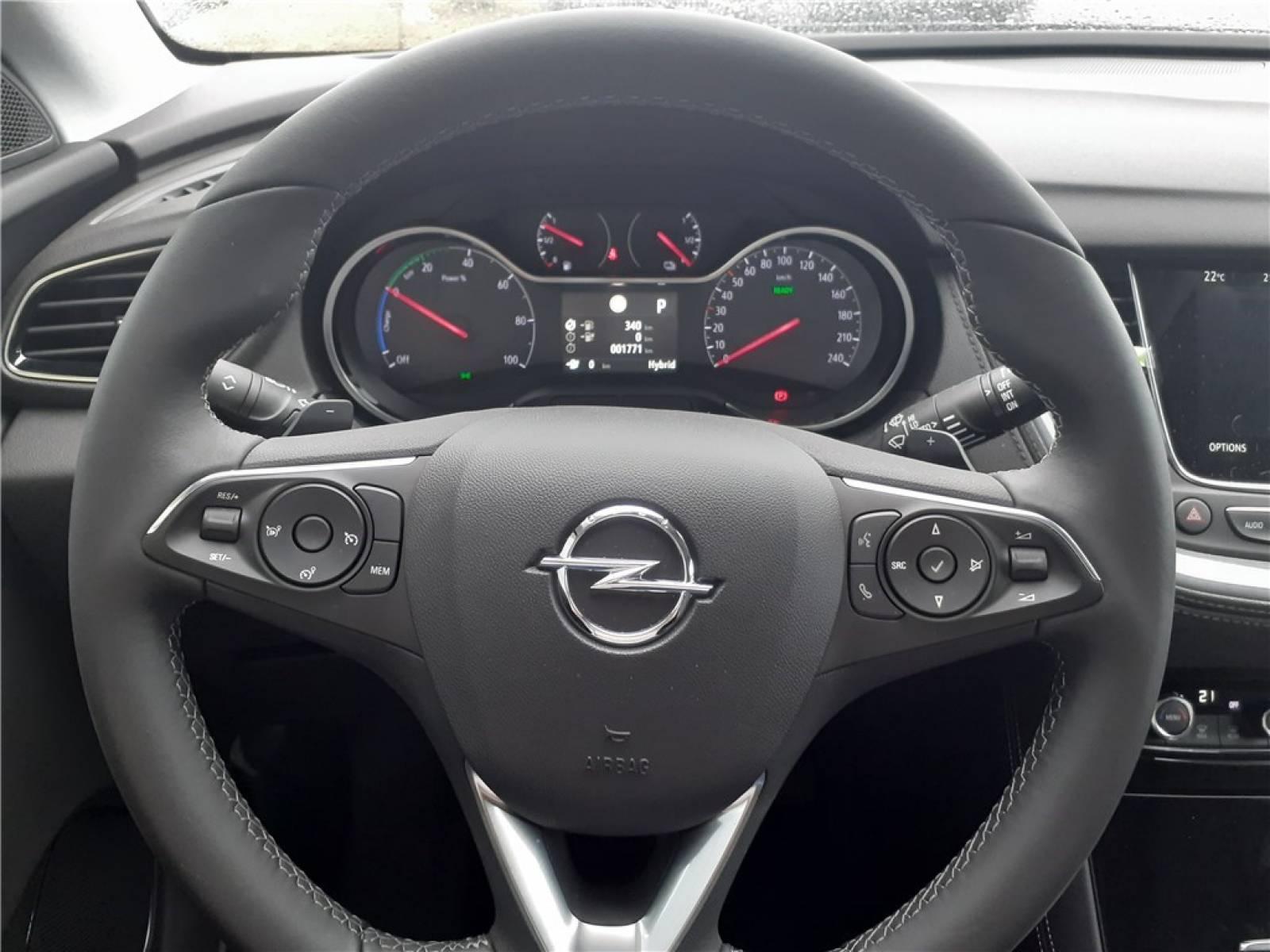 OPEL Grandland X Hybrid 225 ch BVA8 - véhicule d'occasion - Groupe Guillet - Opel Magicauto - Chalon-sur-Saône - 71380 - Saint-Marcel - 39