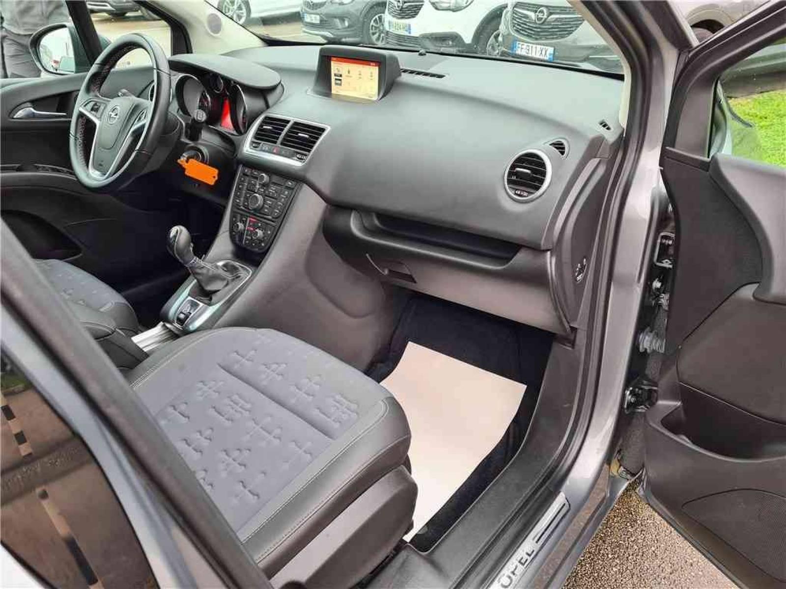OPEL Meriva 1.6 CDTI - 110 ch Start/Stop - véhicule d'occasion - Groupe Guillet - Opel Magicauto - Chalon-sur-Saône - 71380 - Saint-Marcel - 45