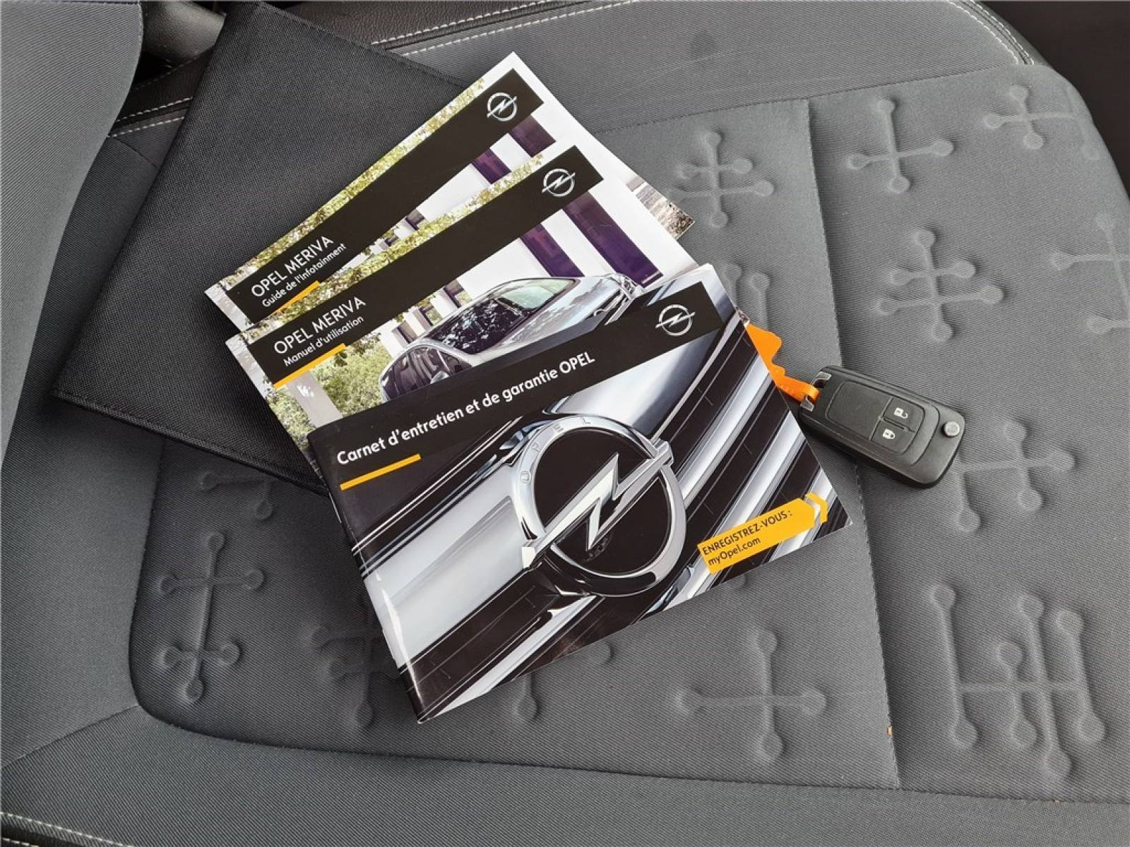 OPEL Meriva 1.6 CDTI - 110 ch Start/Stop - véhicule d'occasion - Groupe Guillet - Opel Magicauto - Chalon-sur-Saône - 71380 - Saint-Marcel - 48