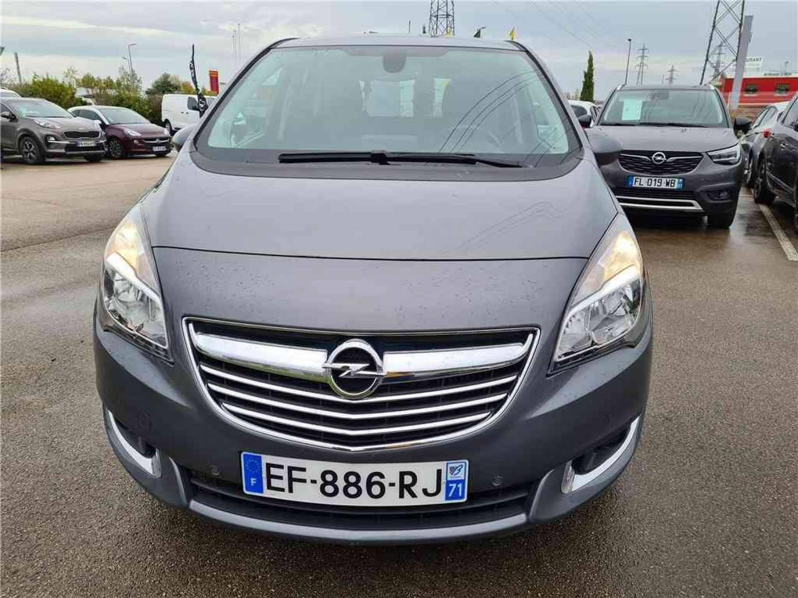 OPEL Meriva 1.6 CDTI - 110 ch Start/Stop - véhicule d'occasion - Groupe Guillet - Opel Magicauto - Chalon-sur-Saône - 71380 - Saint-Marcel - 8