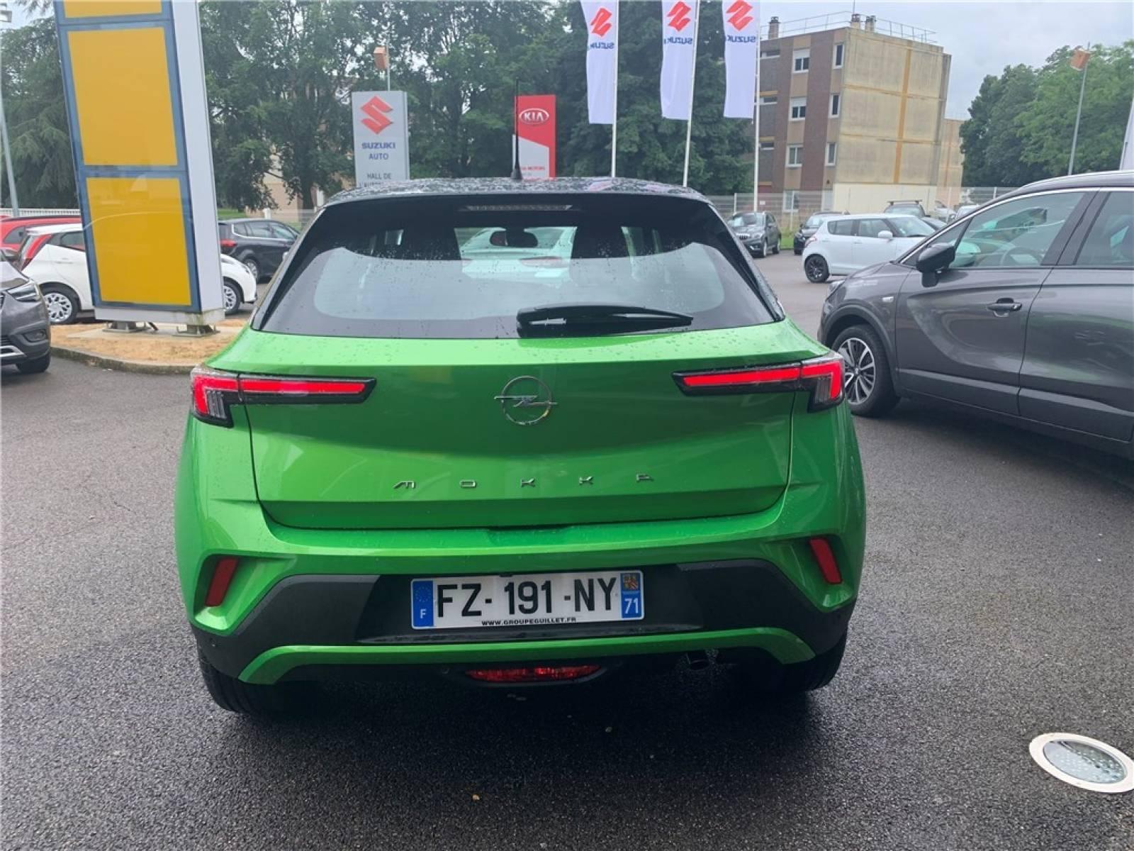 OPEL Mokka 1.2 Turbo 100 ch BVM6 - véhicule d'occasion - Groupe Guillet - Opel Magicauto - Montceau-les-Mines - 71300 - Montceau-les-Mines - 6