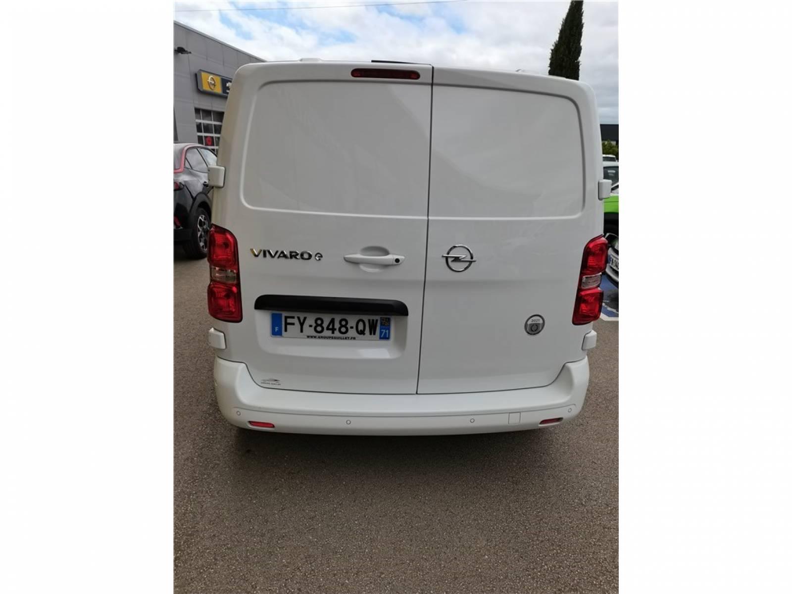OPEL VIVARO-E FGN L2 300 - véhicule d'occasion - Groupe Guillet - Opel Magicauto - Chalon-sur-Saône - 71380 - Saint-Marcel - 34