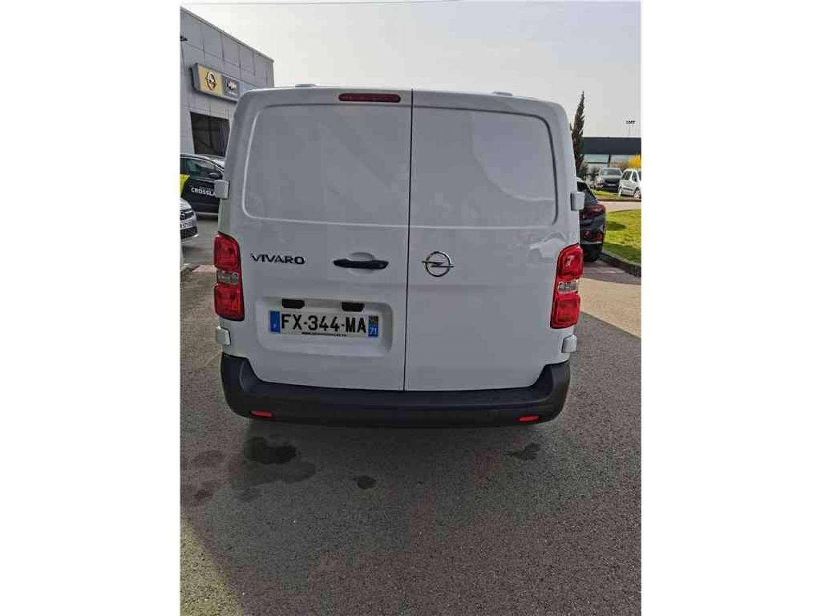 OPEL VIVARO FGN L2 1.5 DIESEL 120 CH - véhicule d'occasion - Groupe Guillet - Opel Magicauto - Chalon-sur-Saône - 71380 - Saint-Marcel - 31