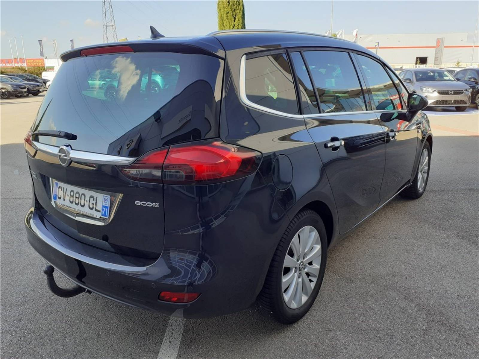 OPEL Zafira Tourer 1.4 Turbo 140 ch Start/Stop EcoFlex - véhicule d'occasion - Groupe Guillet - Opel Magicauto - Chalon-sur-Saône - 71380 - Saint-Marcel - 3