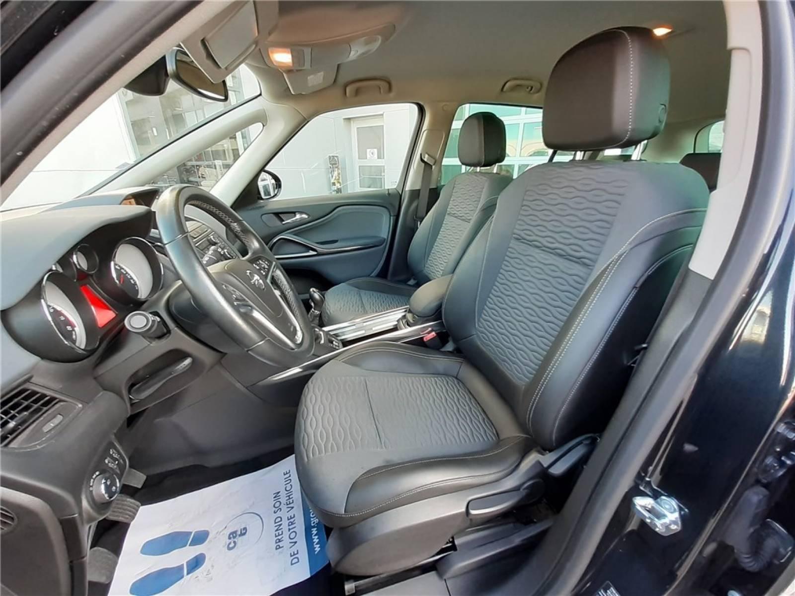 OPEL Zafira Tourer 1.4 Turbo 140 ch Start/Stop EcoFlex - véhicule d'occasion - Groupe Guillet - Opel Magicauto - Chalon-sur-Saône - 71380 - Saint-Marcel - 21