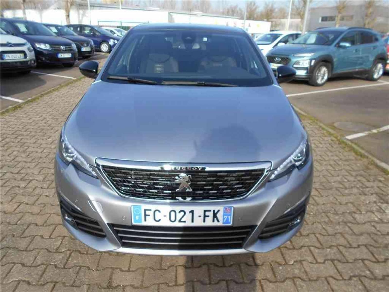 PEUGEOT 308 1.2 PureTech 130ch S&S EAT6 - véhicule d'occasion - Groupe Guillet - Chalon Automobiles - 71100 - Chalon-sur-Saône - 16