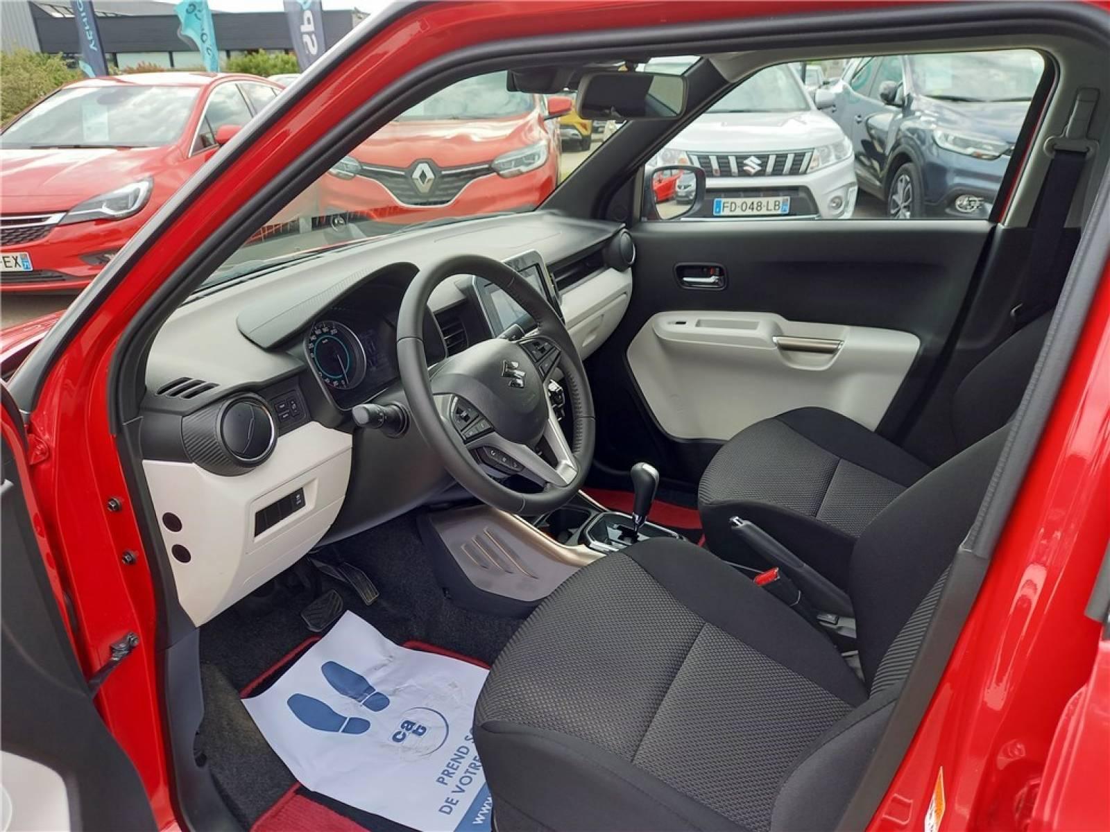 SUZUKI Ignis 1.2 Dualjet Auto (AGS) - véhicule d'occasion - Groupe Guillet - Opel Magicauto - Chalon-sur-Saône - 71380 - Saint-Marcel - 20