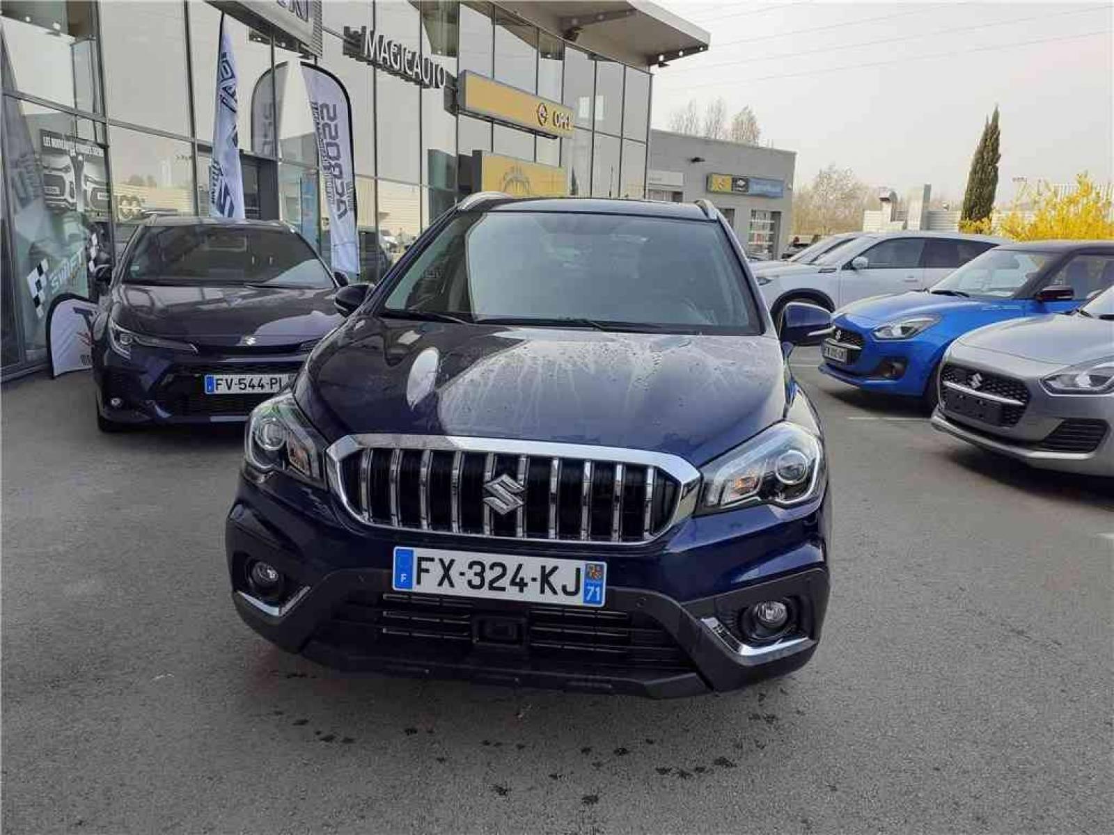 SUZUKI S-Cross 1.4 Boosterjet Allgrip Hybrid Auto - véhicule d'occasion - Groupe Guillet - Hall de l'automobile - Chalon sur Saône - 71380 - Saint-Marcel - 8
