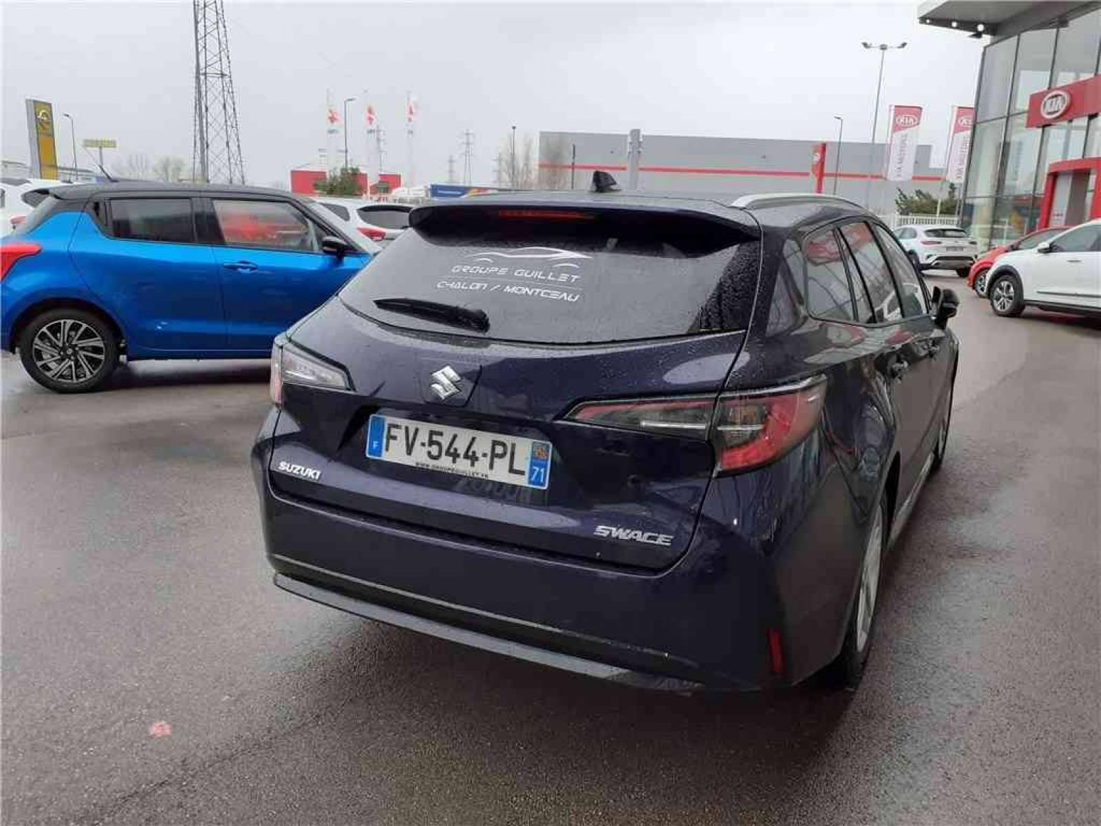 SUZUKI Swace 1.8 Hybrid - véhicule d'occasion - Groupe Guillet - Hall de l'automobile - Chalon sur Saône - 71380 - Saint-Marcel - 4