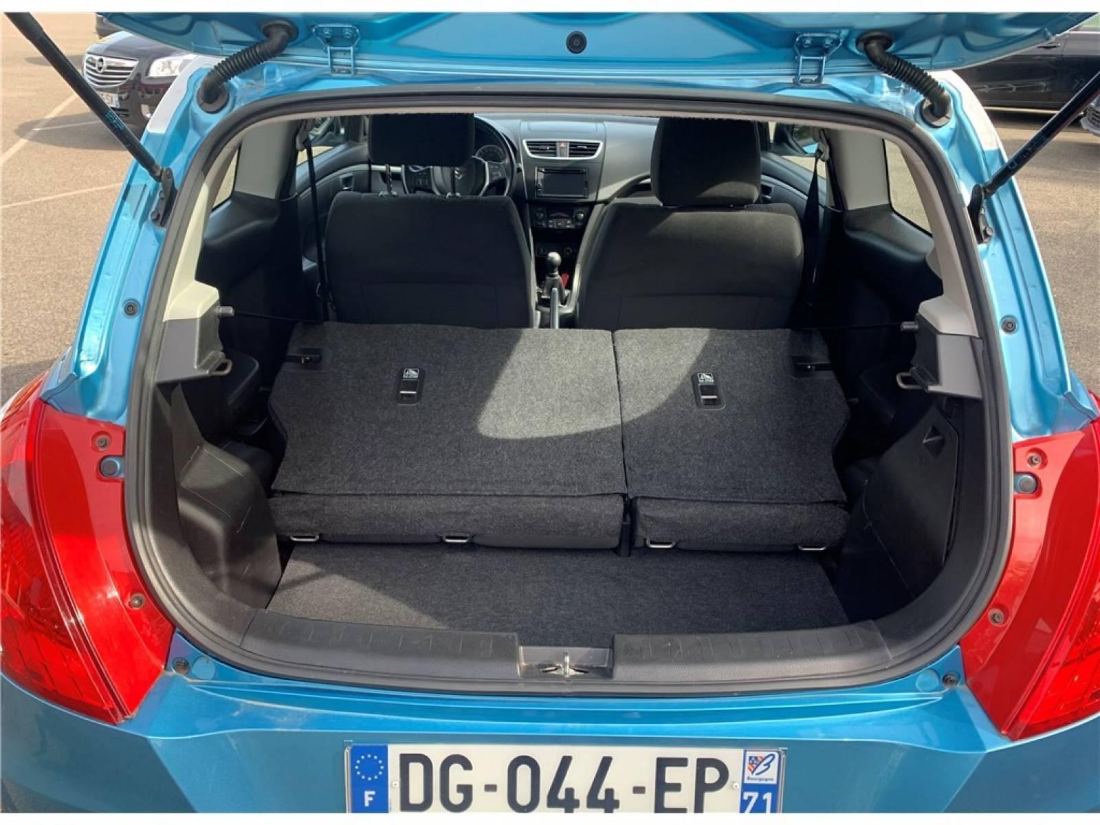 SUZUKI SWIFT 1.2 VVT - véhicule d'occasion - Groupe Guillet - Hall de l'automobile - Chalon sur Saône - 71380 - Saint-Marcel - 7