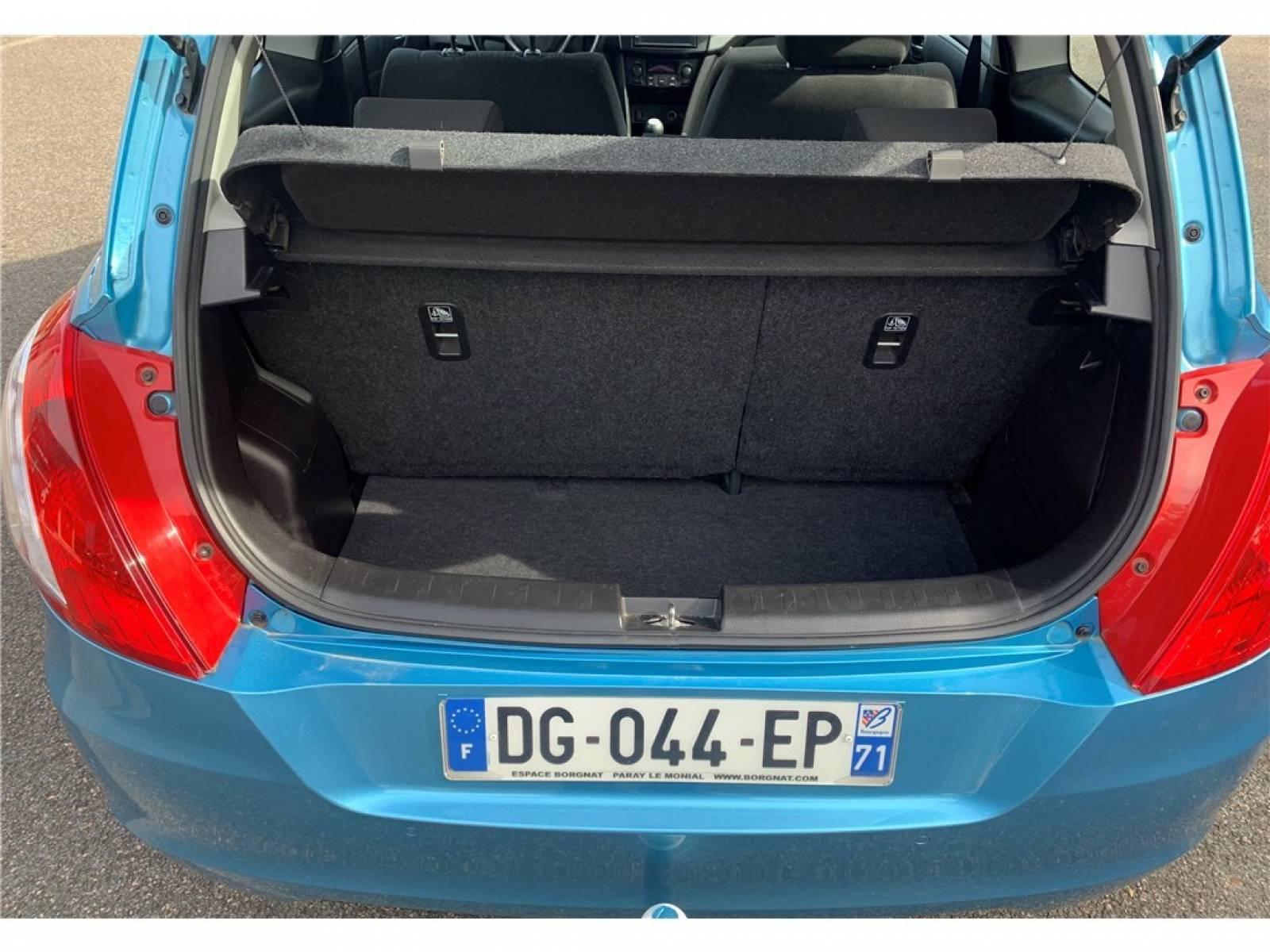 SUZUKI SWIFT 1.2 VVT - véhicule d'occasion - Groupe Guillet - Hall de l'automobile - Chalon sur Saône - 71380 - Saint-Marcel - 9