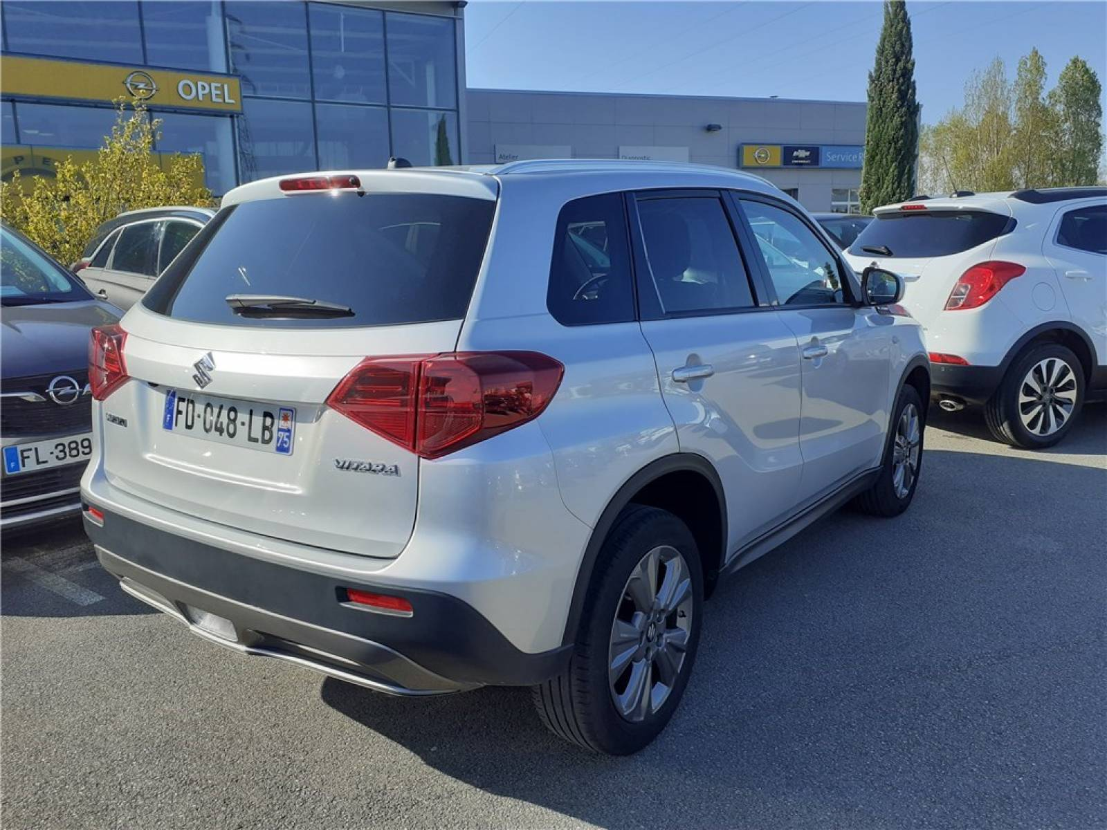 SUZUKI Vitara 1.0 Boosterjet - véhicule d'occasion - Groupe Guillet - Opel Magicauto - Chalon-sur-Saône - 71380 - Saint-Marcel - 7
