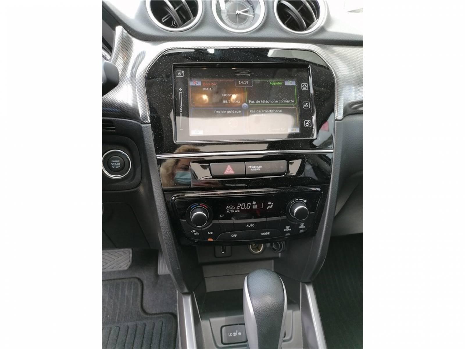 SUZUKI Vitara 1.4 Boosterjet Hybrid Auto - véhicule d'occasion - Groupe Guillet - Hall de l'automobile - Chalon sur Saône - 71380 - Saint-Marcel - 19
