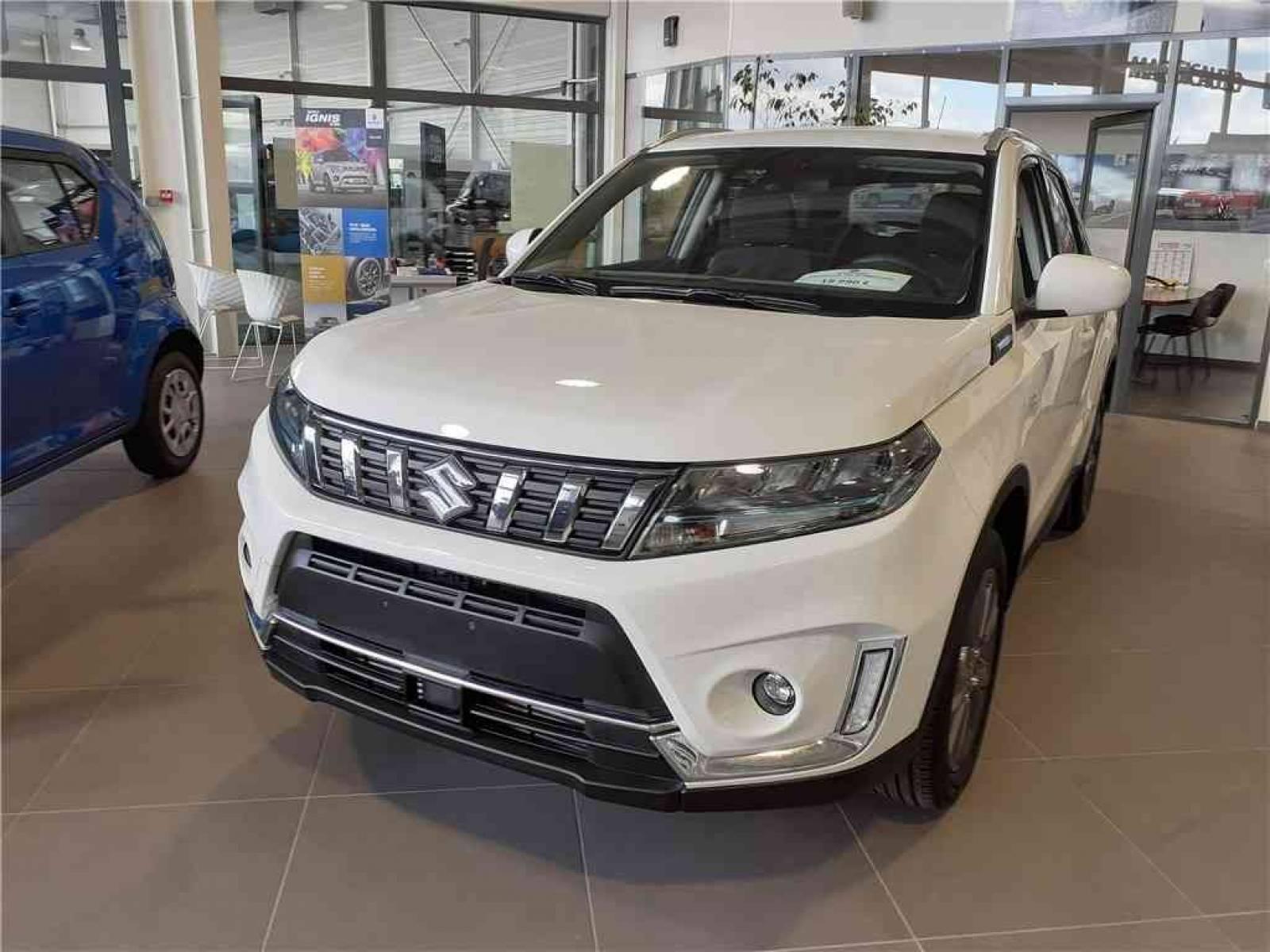 SUZUKI Vitara 1.4 Boosterjet Hybrid - véhicule d'occasion - Groupe Guillet - Hall de l'automobile - Chalon sur Saône - 71380 - Saint-Marcel - 1
