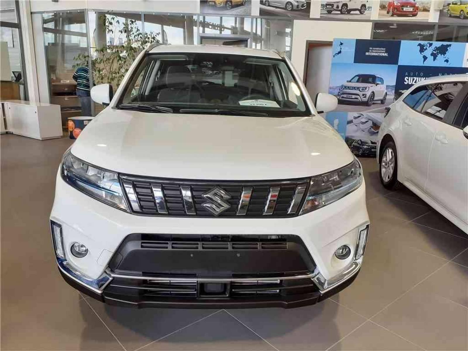 SUZUKI Vitara 1.4 Boosterjet Hybrid - véhicule d'occasion - Groupe Guillet - Hall de l'automobile - Chalon sur Saône - 71380 - Saint-Marcel - 55
