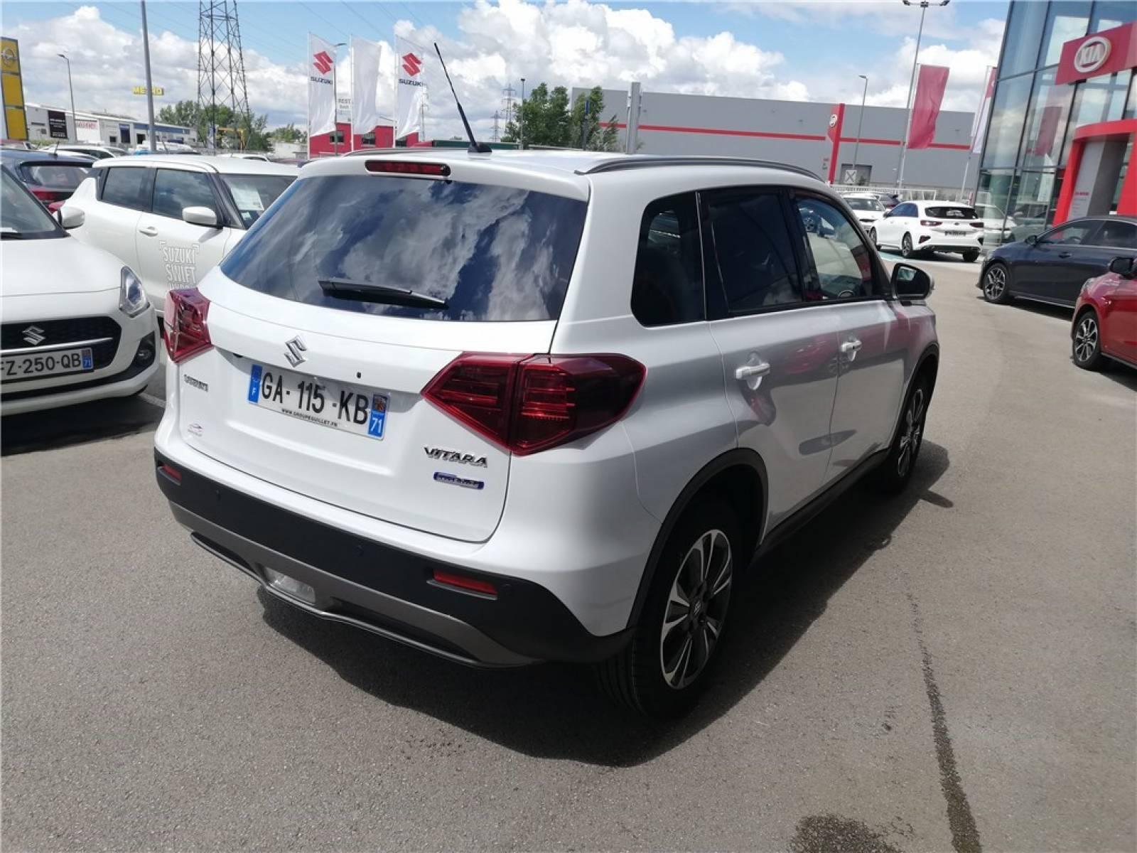 SUZUKI Vitara 1.4 Boosterjet Hybrid - véhicule d'occasion - Groupe Guillet - Hall de l'automobile - Chalon sur Saône - 71380 - Saint-Marcel - 21